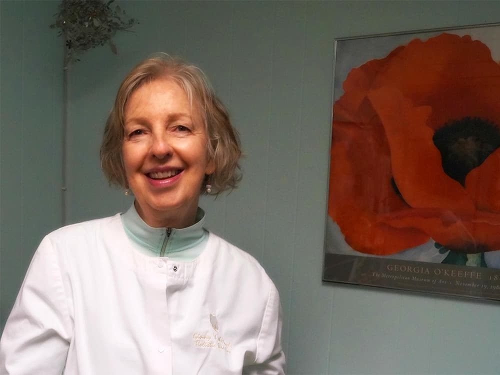 Virginia Riordan - Certified Esthetician and Dr. Hauschka Esthetician - Ginny and the Angels Holistic Skin Care